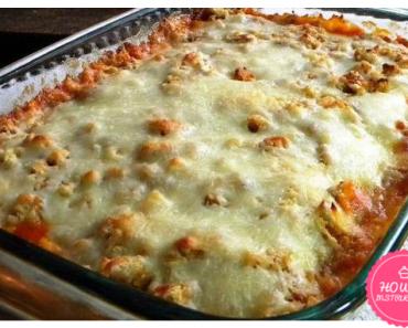 Easy Chicken Parmesan Casserole