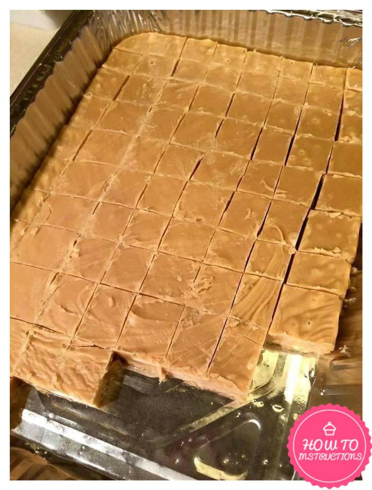 Peanut Butter Microwave Fudge Super Quick and Easy