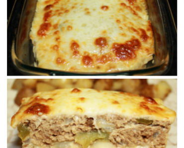 Philly Cheese Meatloaf