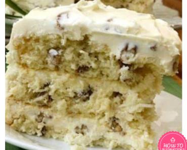 CAKE MIX ITALIAN CREAM CAKE