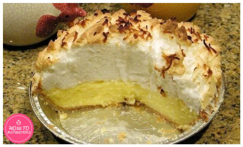 Old Fashion Coconut Pie