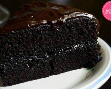 Double fudge cake