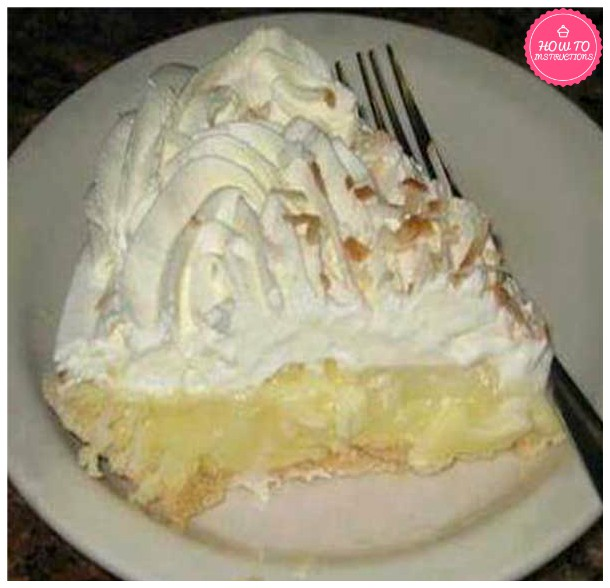 Bluebonnet Cafe Coconut Cream Pie