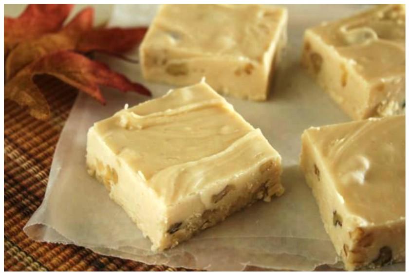 Maple Walnut Fudge! OHhhh Yummm!