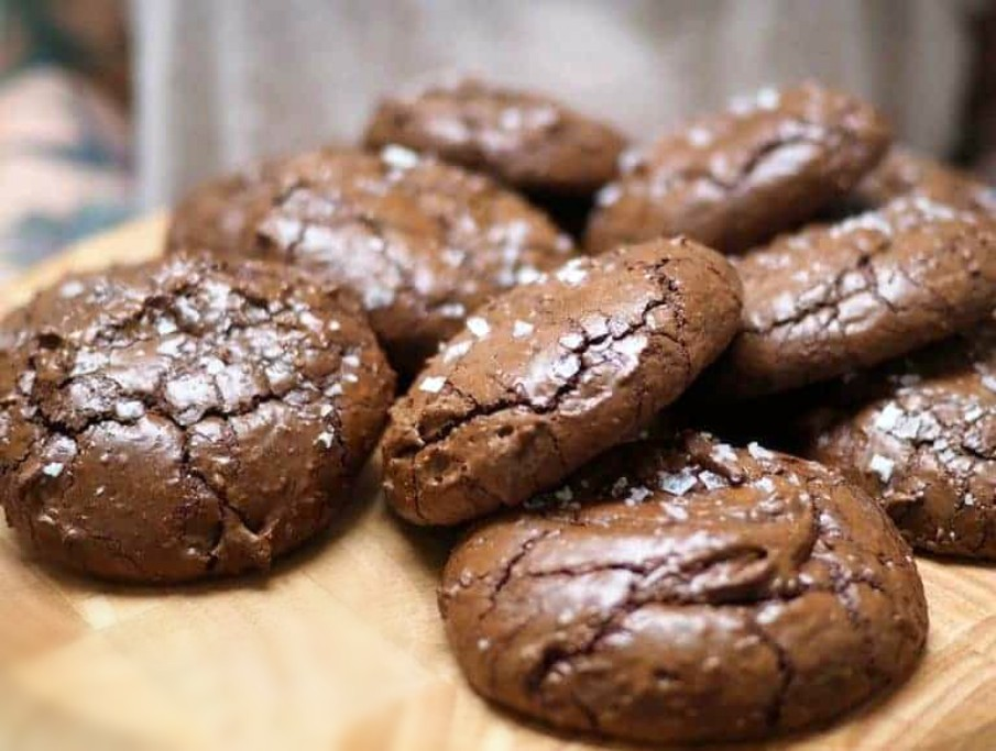 NUTELLA BROWNIE COOKIES